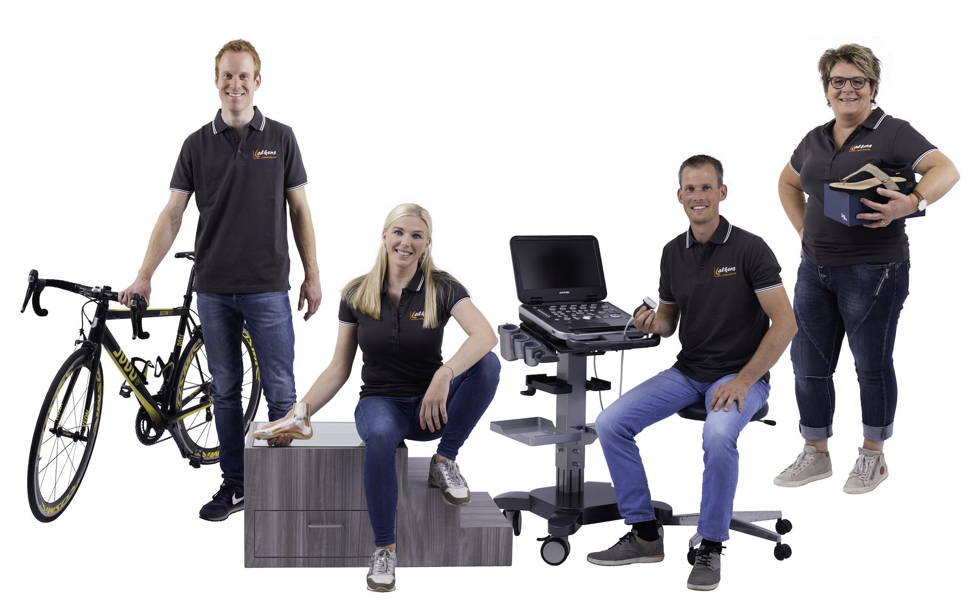 Het team van Lalkens Podotherapie